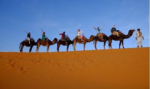 Morocco Tours 3 days Fes to Marrakech shared desert via Sahara Desert