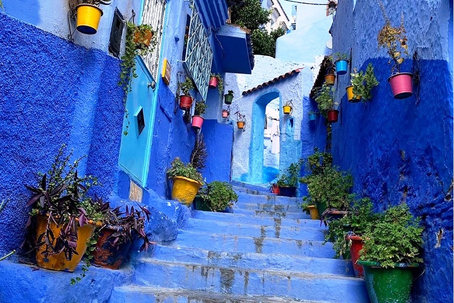 We offer private and shared guided tour from Tangier