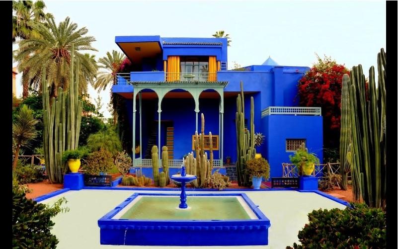 Majorelle Garden in Marrakesh Old Medina - and YSL Museum - Morocco Desert trips